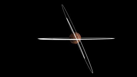 Сравнение наклонений орбиты аппарата TGO до и начала маневров по изменению наклонения (c) ESA/ATG medialab