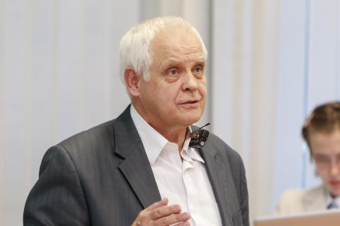 16.10.2017. Валерий Митрофанов (МГУ). Фото: Игнат Соловей, 2017