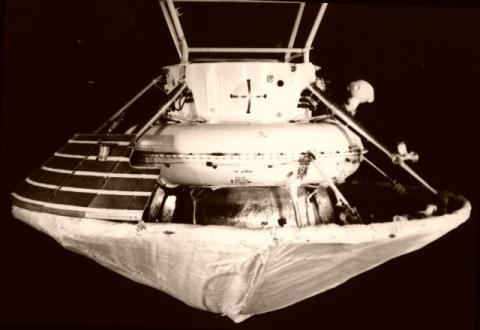 Спускаемый аппарат «Марс-6» (c) Изображение НПО им. С.А. Лавочкина