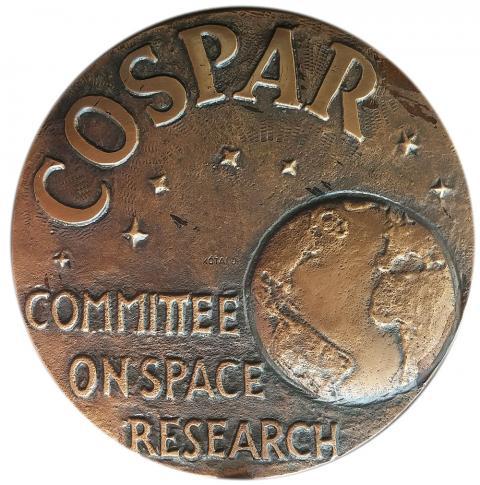 Медаль Международного сотрудничества КОСПАР