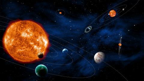 Экзопланеты вокруг других звезд. Изображение: ESA - C. Carreau