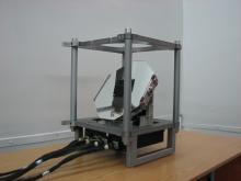Двухкоординатный сканер для прибора МСУ-ГС-ВО космического аппарата «Арктика-М» (с) СКБ КП ИКИ РАН