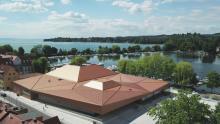 Место Встреч лауреатов Нобелевской премии в Линдау — на берегу Боденского озера. Фото (с) Till Beckert/Lindau Nobel Laureate Meetings