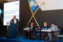 Пленарная сессия «Технологии инноваций: новые решения в авиационной и космической промышленности» в рамках Третьего Евразийского аэрокосмического конгресса (с) ЕАК