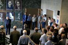 Открытие портрета Н.С. Кардашёва в ИКИ РАН. Фото: Т. Жаркова, 2019