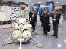 Экскурсия для представителей JAXA, 28.02.2020. Фото В.Г Колесниченко