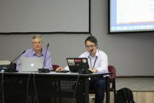 """Хорхе Ваго и Даниил Родионов, научные руководители миссии """"ЭкзоМарс-2020"""" от Европы и России"""