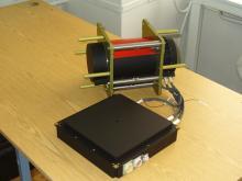 Однокоординатный сканер для прибора МСУ-ГС-ВО космического аппарата «Арктика-М» (с) СКБ КП ИКИ РАН