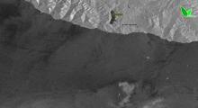 Радиолокационное изображение (Sentinel-1) 12 августа 2021 г.