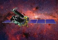 Обсерватория «Спектр-РГ» в полете (с) АО