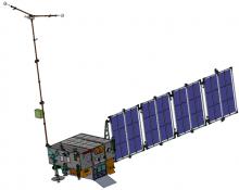 КА «Зонд». Полетная конфигурация