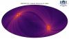 Карта всего неба, полученная с помощью телескопа ART-XC в диапазоне энергий 4–12 кэВ. Изображение: ИКИ РАН