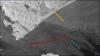 Сброс с судна в акватории Халактырского пляжа (данные спутника Sentinel-1A) 23.09.2020