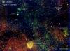 Рентгеновская карта участка Галактического диска («хребет Галактики»), полученная в октябре 2019 г. (c) ИКИ/МПЕ/СРГ/еРОЗИТА