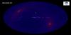 Карта, полученная по обзору всего неба телескопом ART-XC обсерватории «Спектр-РГ», с вычтенным фоном заряженных частиц. Изображение: ИКИ РАН