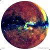 RGB-карта неба, построенная телескопом СРГ/еРОЗИТА по сумме двух первых обзоров неба (с) Гильфанов, Медведев, Сюняев и российский консорциум СРГ/еРОЗИТА, 2021