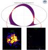 Участок небесной сферы (одна шестая часть), для которого были получены данные в первый месяц обзора обсерватории «Спектр-РГ» (c) СРГ/АРТ-ХС/ИКИ